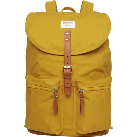 Sandqvist Roald Ground Backpack | Yellow SQA535