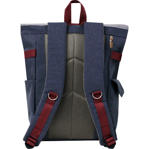 Harvest Label Rolltop Backpack plus | Navy hfc-9017-nvy