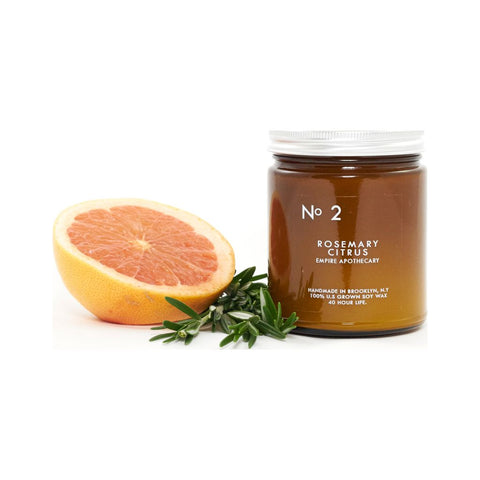 Empire Apothecary No. 2 Candle | Rosemary & Citrus EMPIRE09