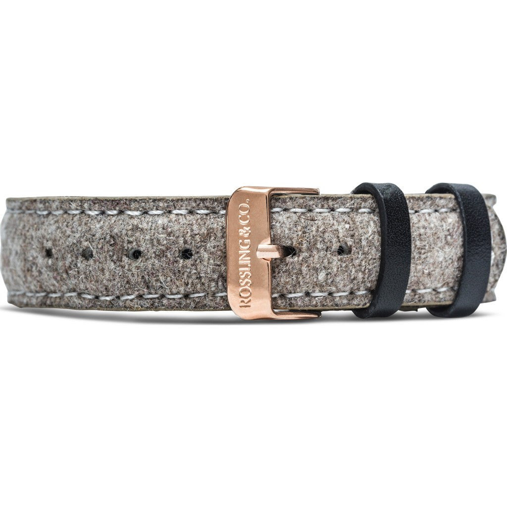 Rossling & Co. Aberdeen 18mm Watch Strap | Beige Tweed RO-998-003