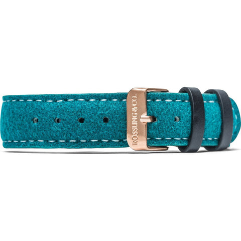 Rossling & Co. Greenock 18mm Watch Strap | Green Tweed RO-998-004