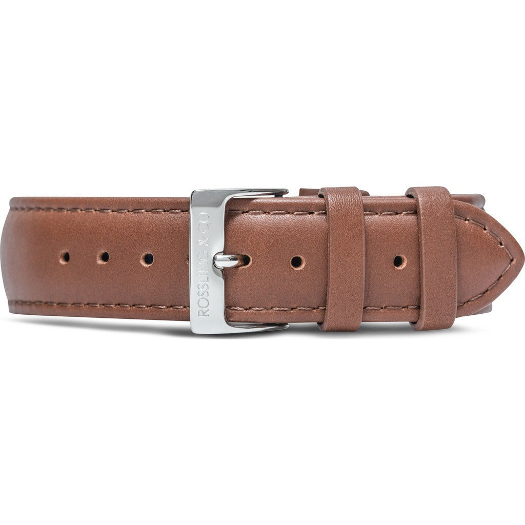 Rossling & Co. Westhill 20mm Watch Strap | Brown Leather RO-999-005