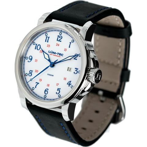 Lum-Tec RR1 Automatic Watch | Leather Strap