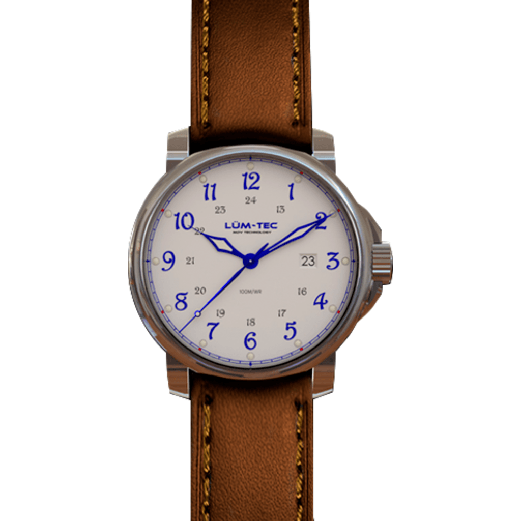 Lum-Tec RR2 Automatic Watch | Leather Strap