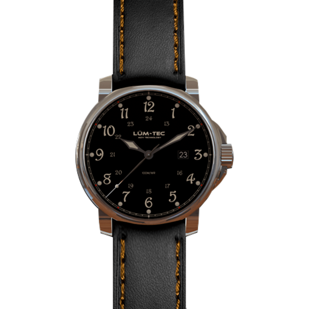 Lum-Tec RR3 Automatic Watch | Leather Strap