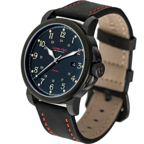 Lum-Tec RR4 Automatic Watch | Leather Strap