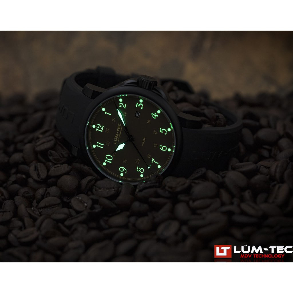 Lum-Tec RR5 Automatic Watch | Leather Strap