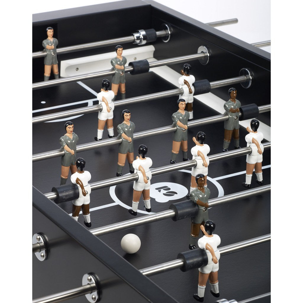 ... RS Barcelona RS#3 Wood Foosball Table   Black RS3W 3 ...