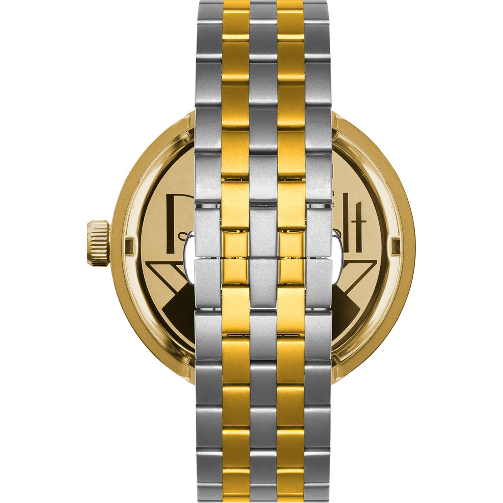 Vestal Roosevelt 5-Link Metal Watch | Gold/Black/Silver