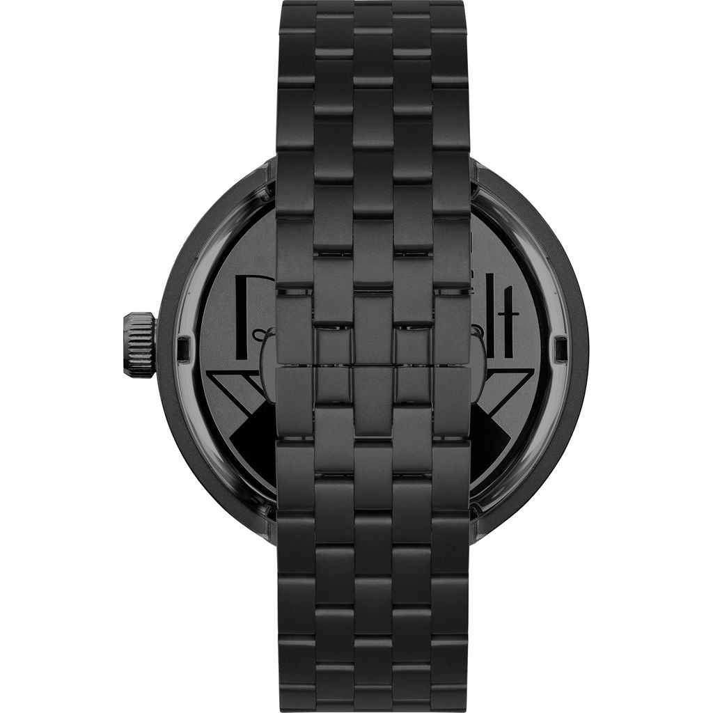 Vestal Roosevelt 5-Link Metal Watch | Gun