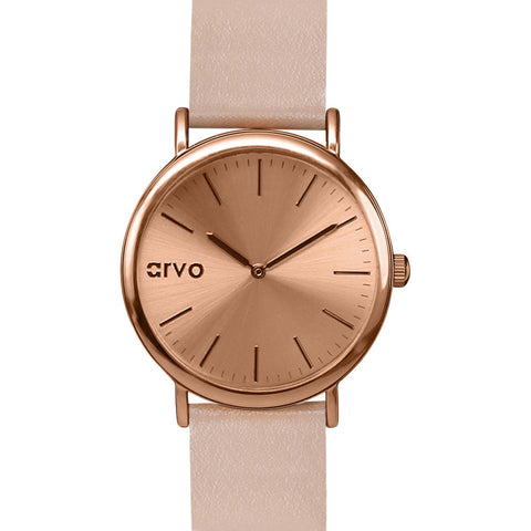 Arvo Rose Time Sawyer Watch | Rose/Sand