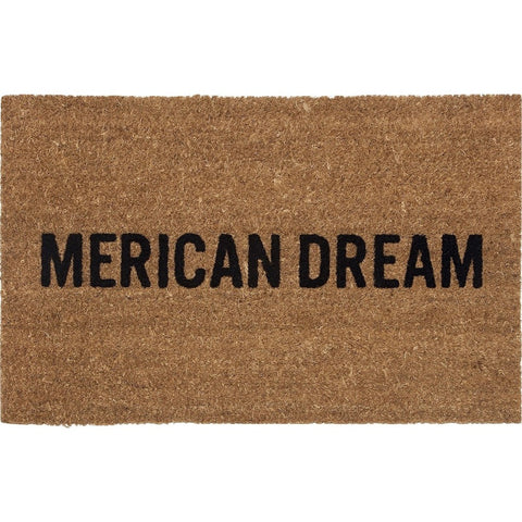 Reed Wilson Design Merican Dream Doormat | Flocked Lettering DRMT103