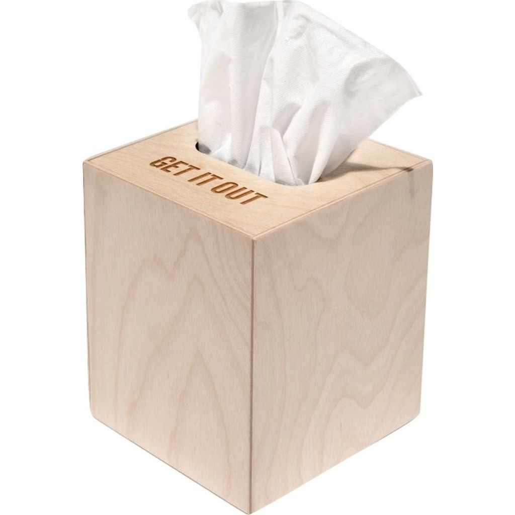Reed Wilson Design Get It Out Tissue Box Case | Baltic Birch