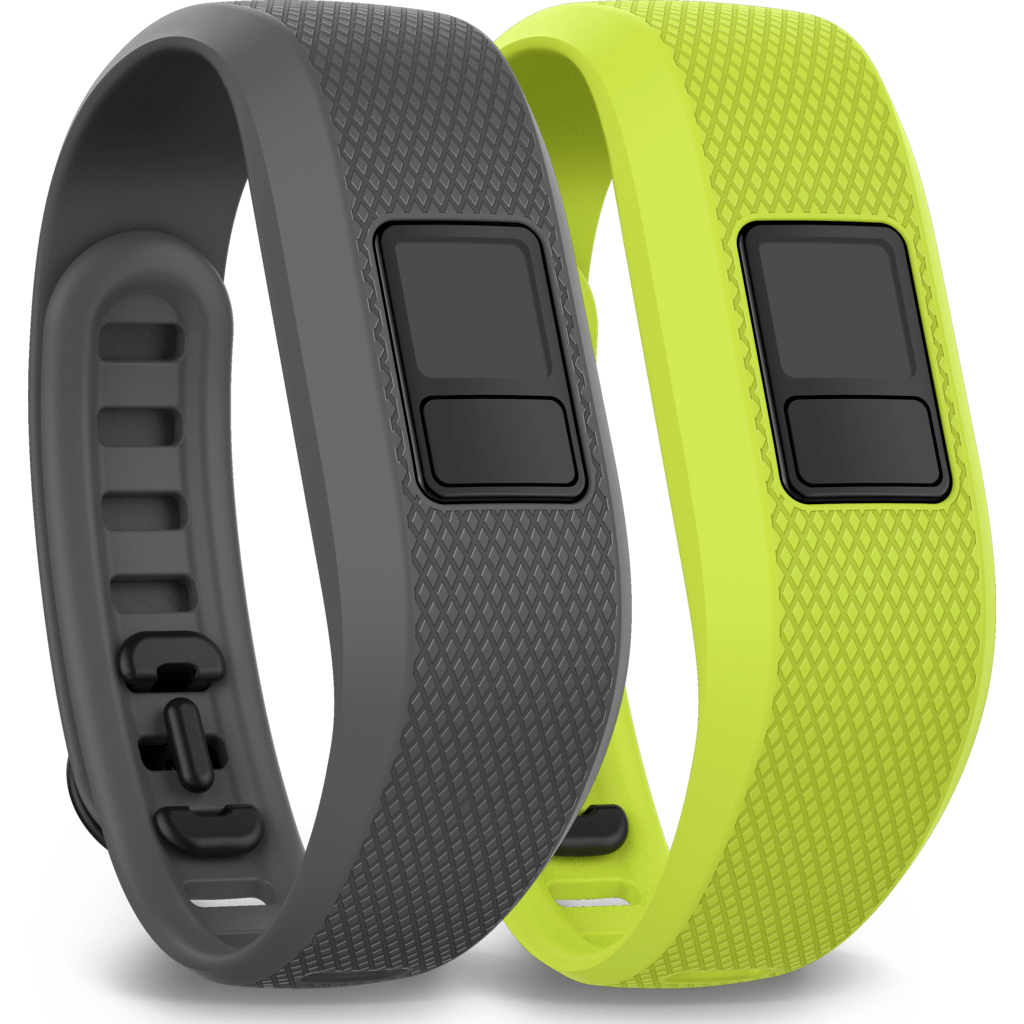 Garmin Vivofit 3 Bands | Slate and Borealis Green Regular 010-12452-01