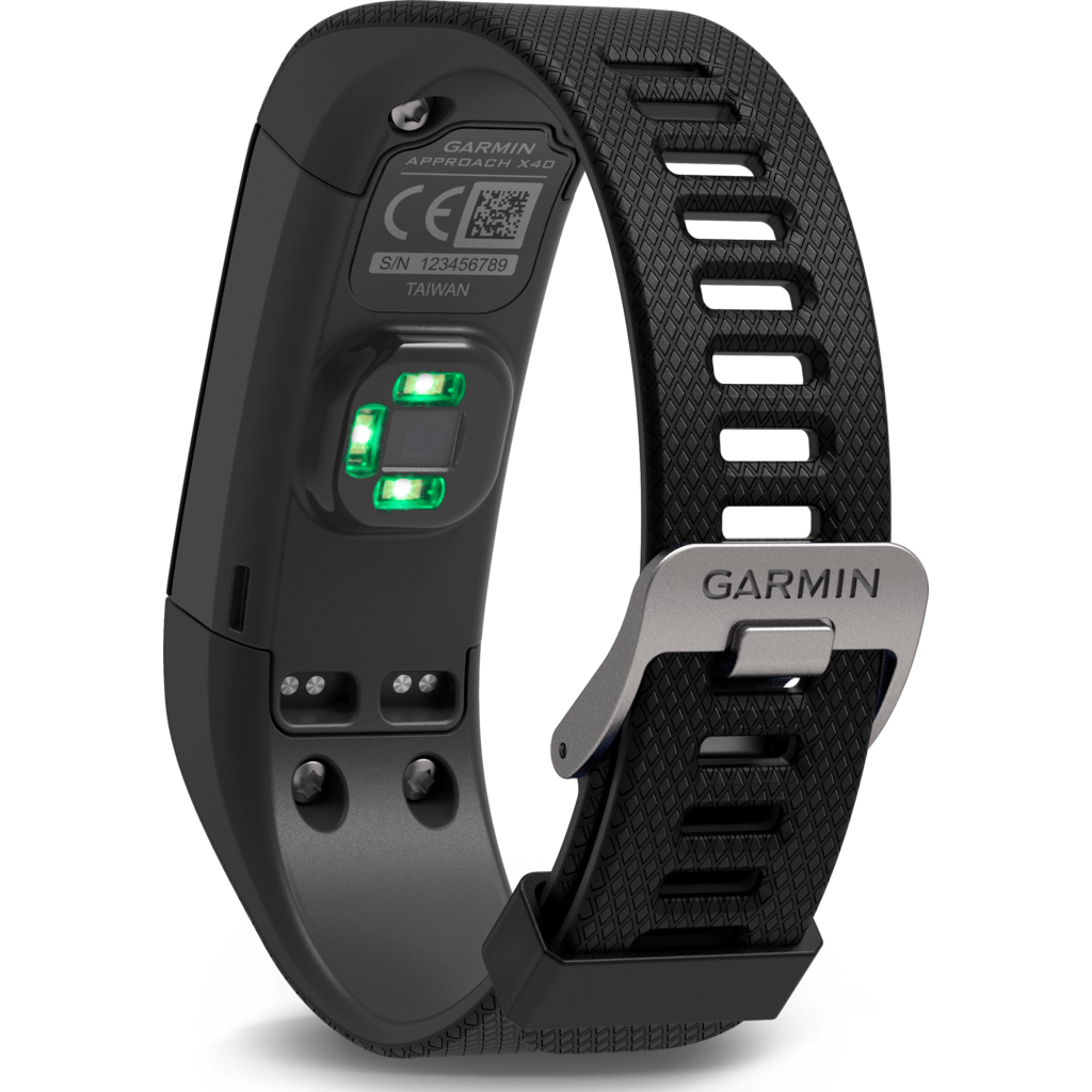 Garmin Approach X40 Golf GPS Activity Tracker | Black/Grey 010-01513-00