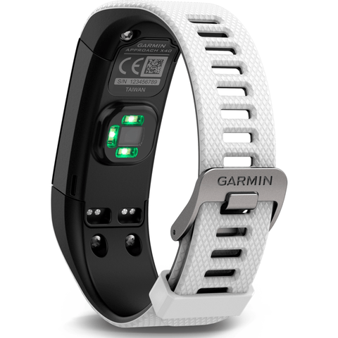 Garmin Approach X40 Golf GPS Activity Tracker | White/Black 010-01513-01