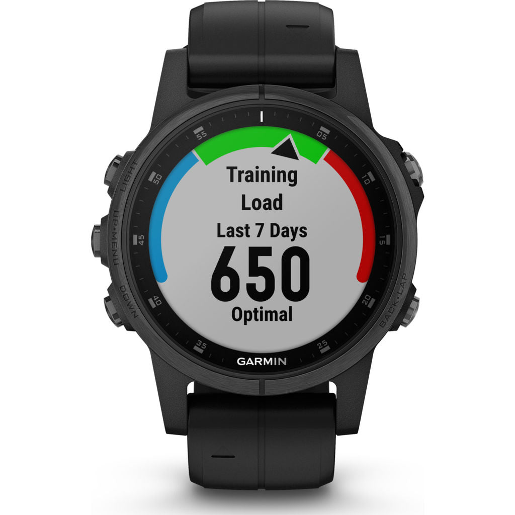 Garmin Fenix 5S Plus Sapphire Multisport GPS Watch | Black 010-01987-02