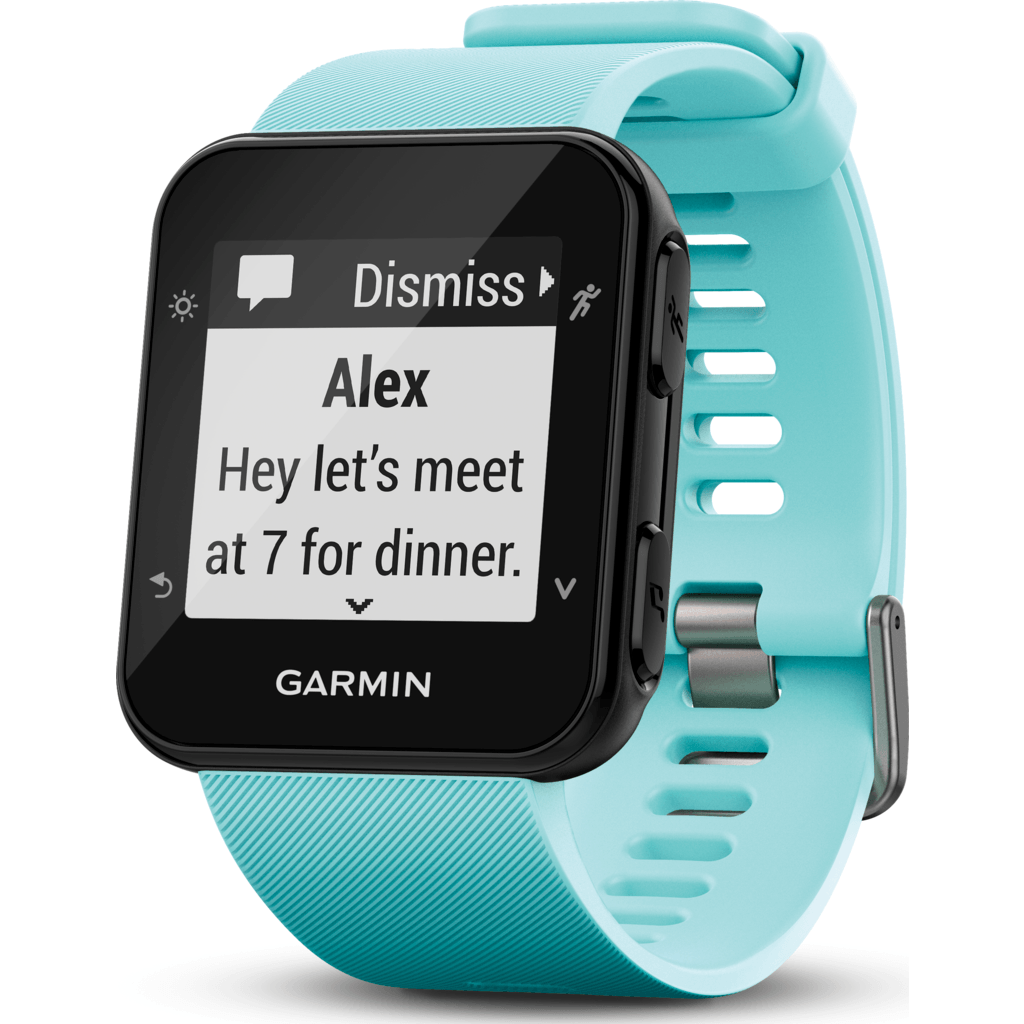 Garmin Forerunner 35 GPS Running Watch | Frost Blue 010-01689-02