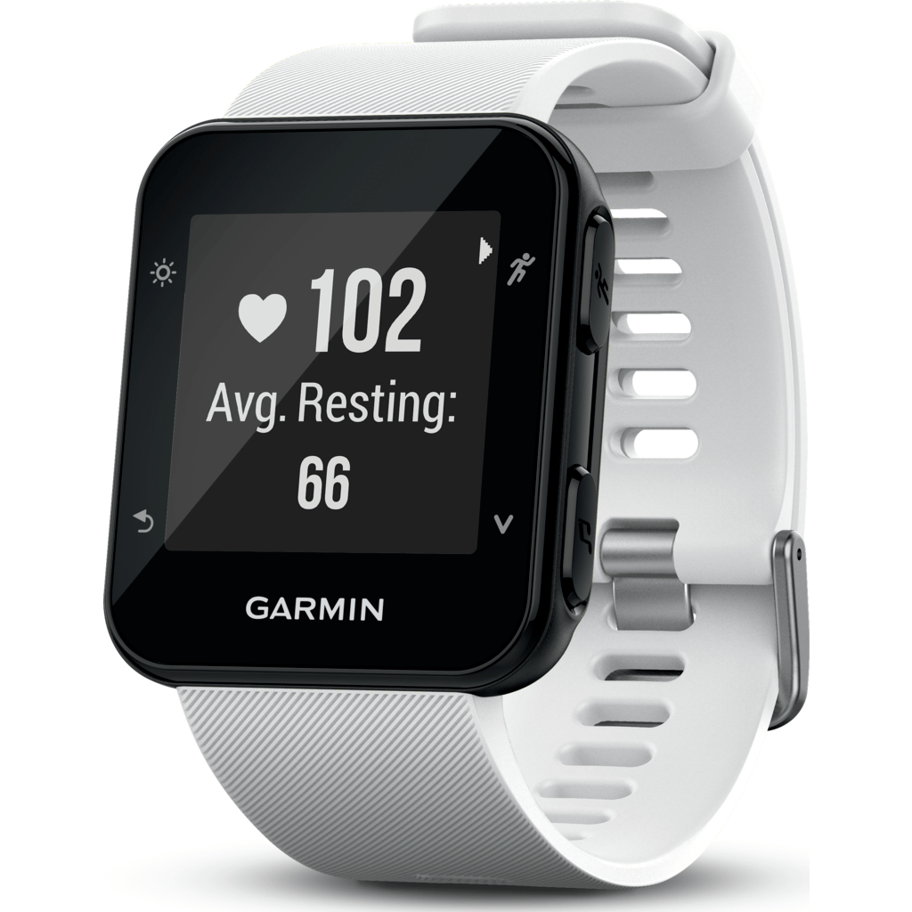 Garmin Forerunner 35 GPS Running Watch | White 010-01689-03
