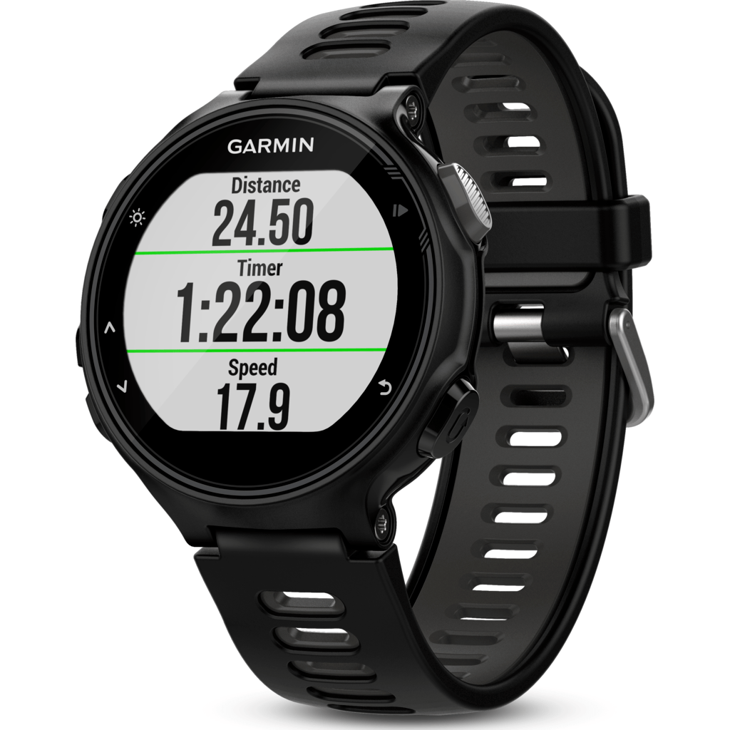 Garmin Forerunner® 735XT GPS Multisport Watch | Black/Grey