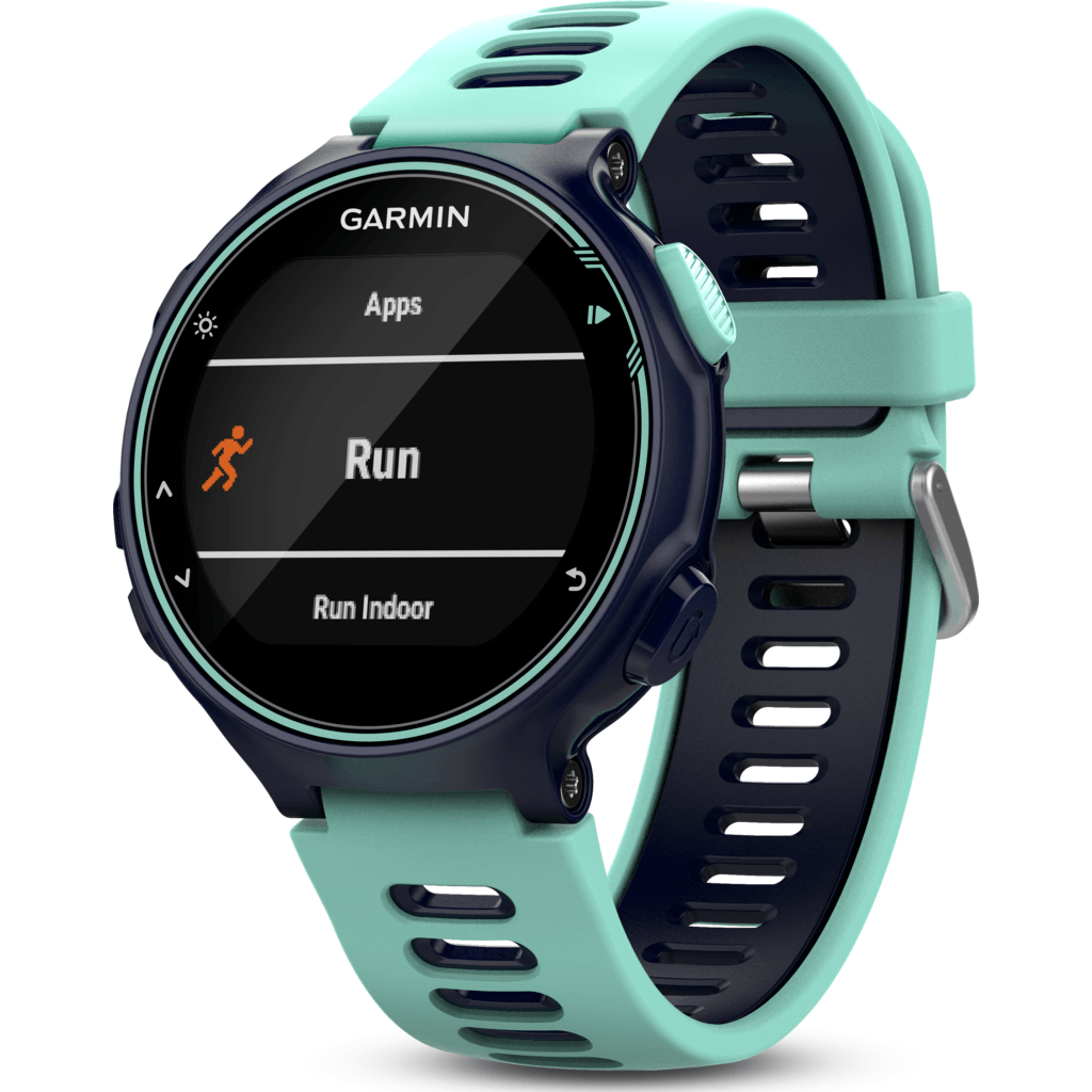 Garmin Forerunner® 735XT GPS Multisport Watch | Midnight/Frost Blue