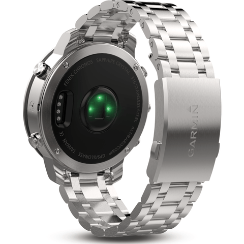 Garmin Fenix Chronos Multi-Sport GPS Watch | Stainless Steel 010-01957-02