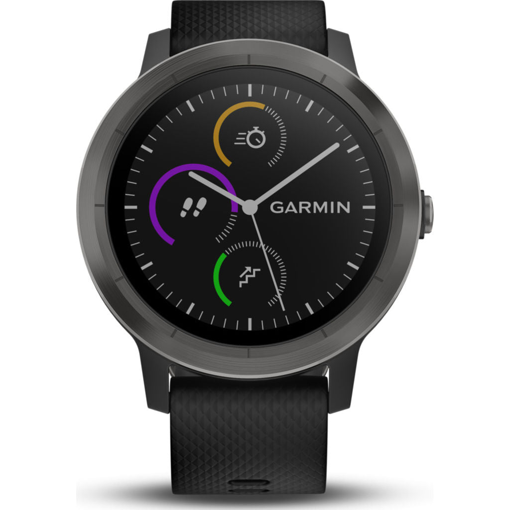 Garmin Vivoactive 3 Activity Tracking GPS Smartwatch | Black & Slate 010-01769-11