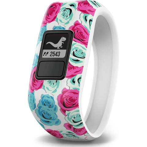 Garmin Vivofit Junior Activity Tracking Band | Real Flower 010-01634-02