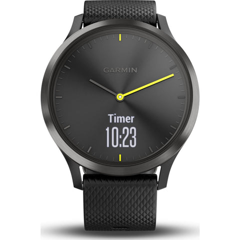 Garmin Vivomove HR Activity Tracking Smartwatch | Sport Black 010-01850-11