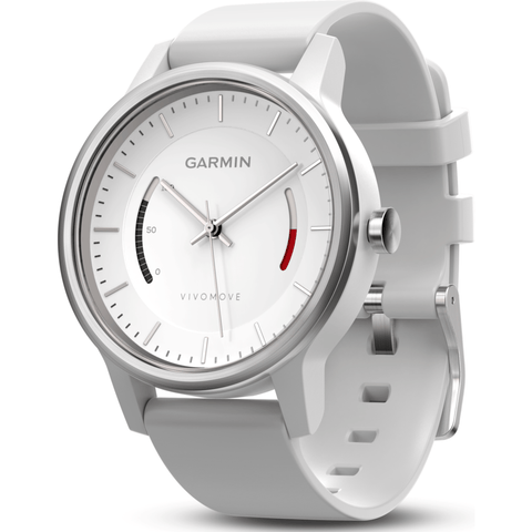 Garmin Vivomove Sport Activity Tracking Watch | Black/White 010-01597-03