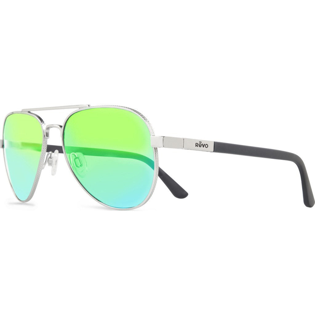 Revo Eyewear Raconteur Chrome Sunglasses | Green Water RE 1011 03 GN
