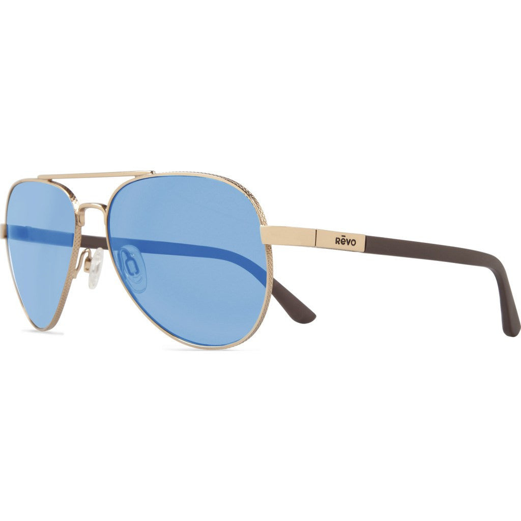 Revo Eyewear Raconteur Gold Sunglasses | Blue Water RE 1011 04 BL