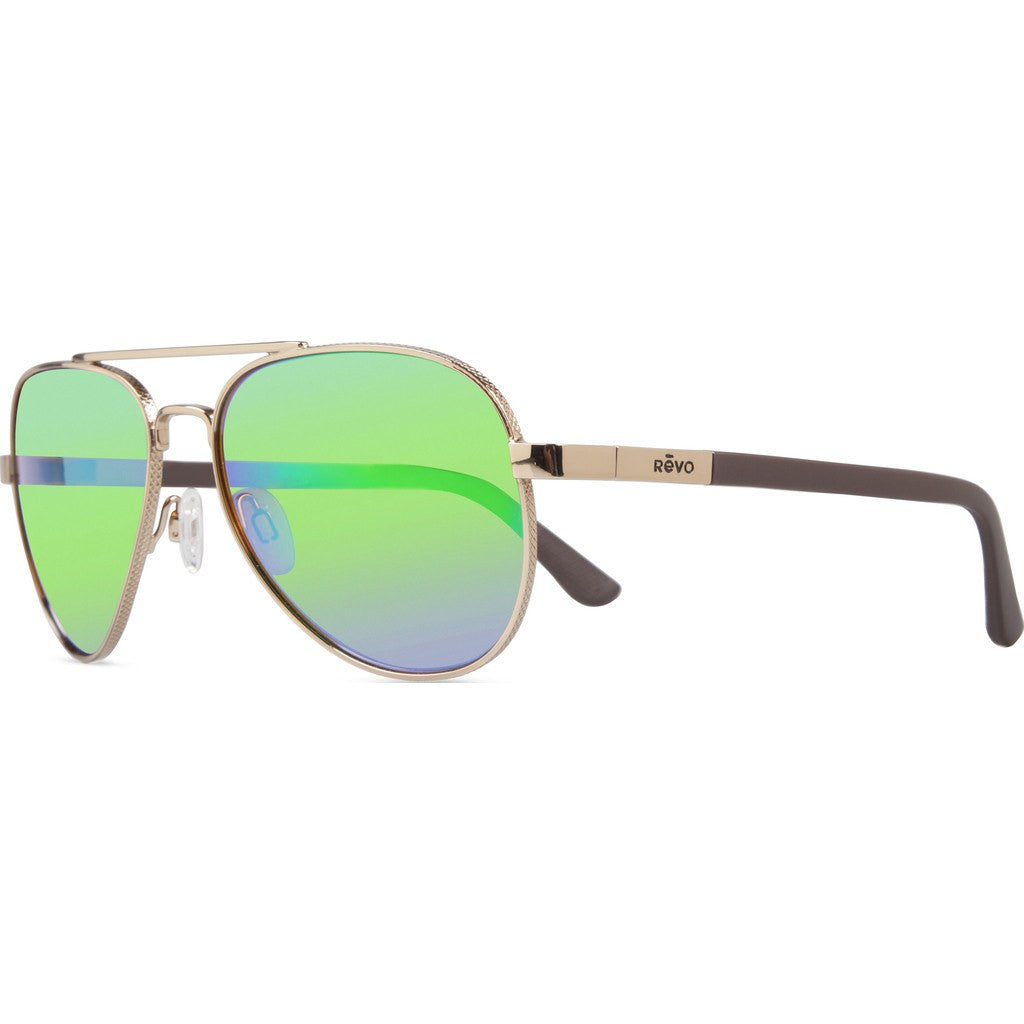 Revo Eyewear Raconteur Gold Sunglasses | Green Water RE 1011 04 GN