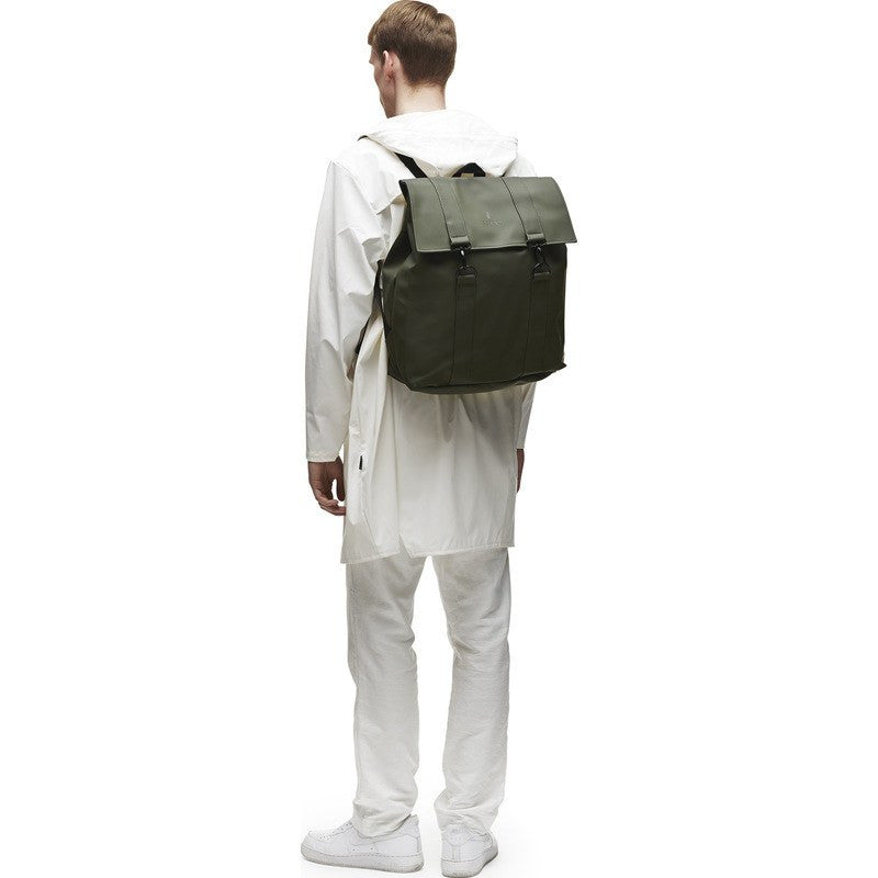 RAINS Waterproof Messenger Bag | Green