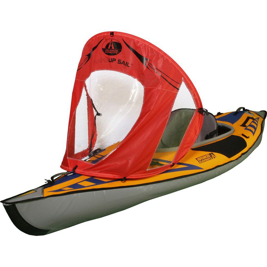 Advanced Elements Rapidup Kayak Sail   Red/clear