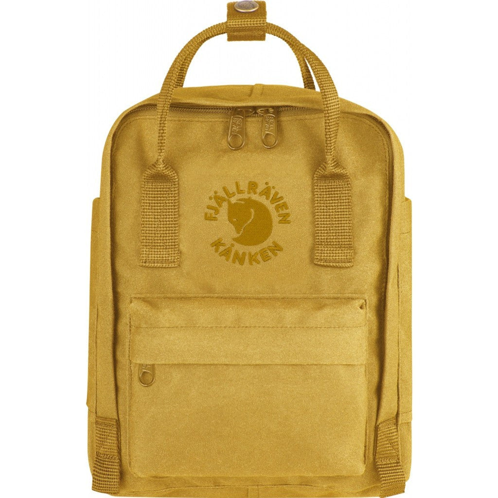 Fjallraven Re-Kanken Mini Backpack | Sunflower Yellow F23549-142