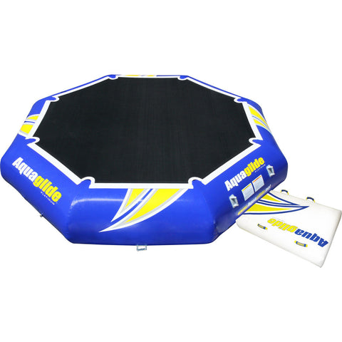 Aquaglide Rebound 16 Inflatable Trampoline | Yellow/Blue/Black 58-5209101