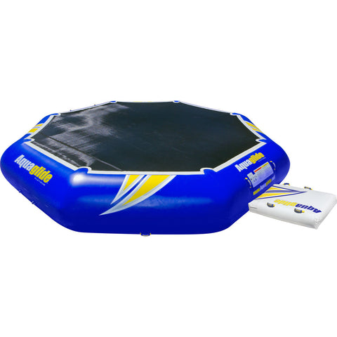 Aquaglide Rebound 20 Inflatable Trampoline | Yellow/Blue/Black 58-5213005