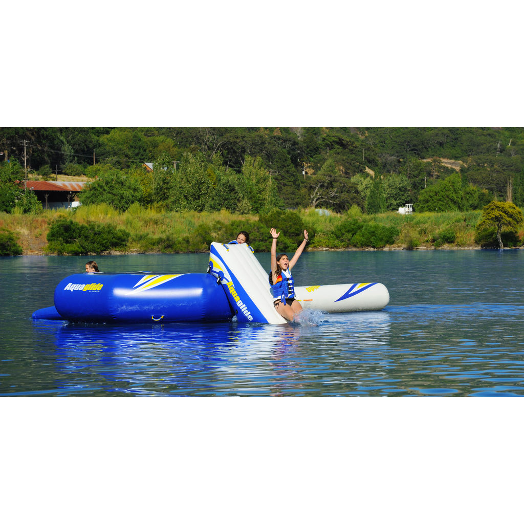 Aquaglide Rebound Slide 16 Infltable Water Slide | Yellow/Blue/White  58-5209212
