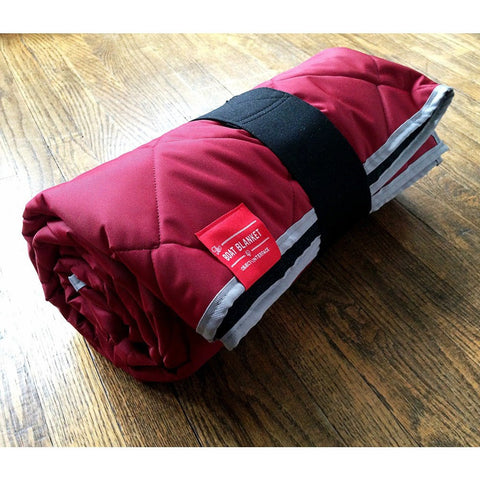 Object Interface Boat Blanket | Red/Grey BB2-R