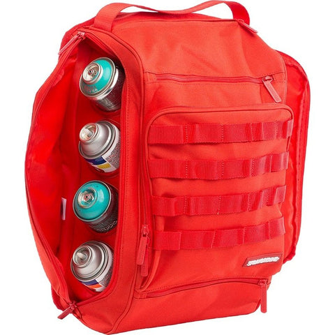 Sprayground Graffiti Utility Backpack | Red