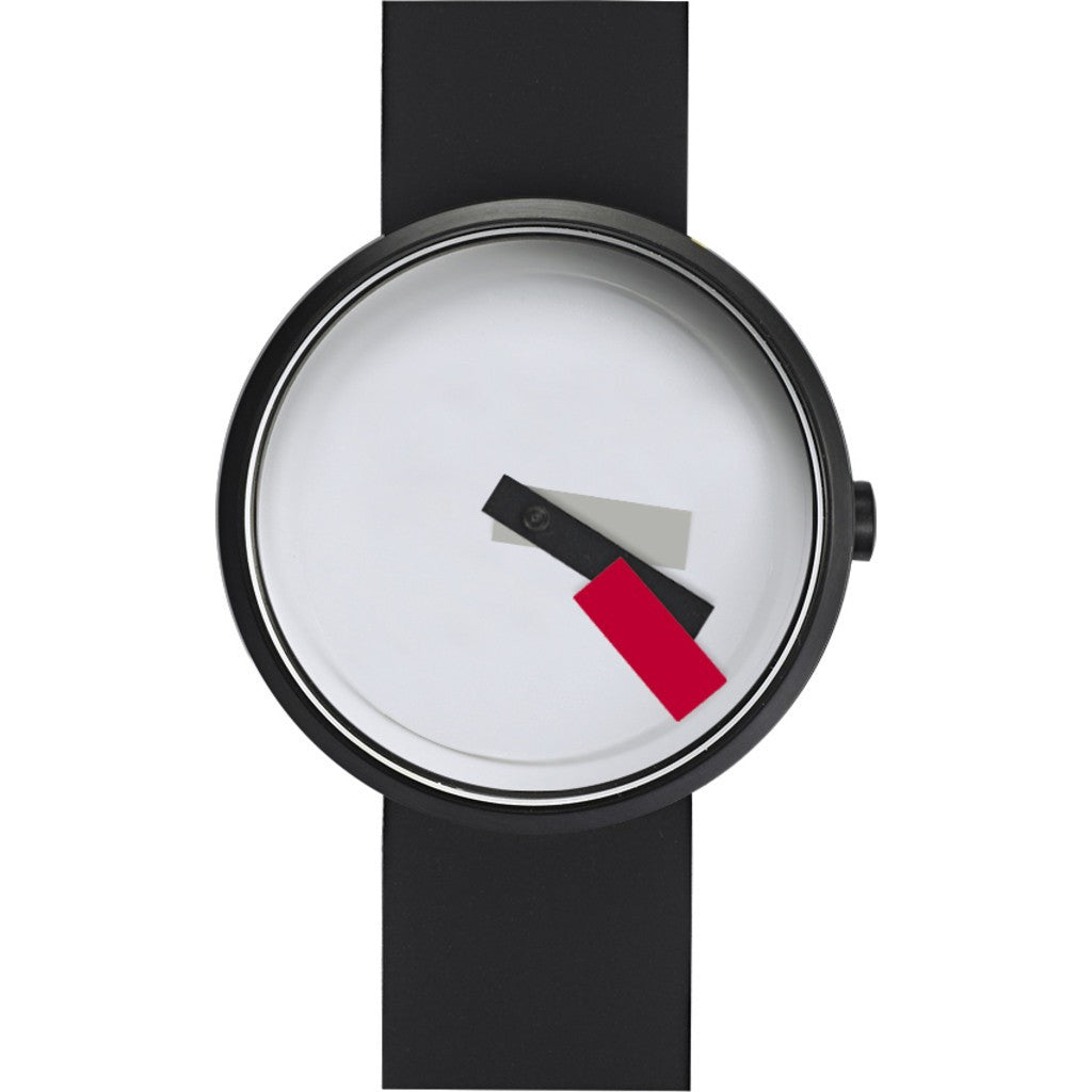 Projects Watches Suprematism Watch | Red/Black Silicone 7296 RS