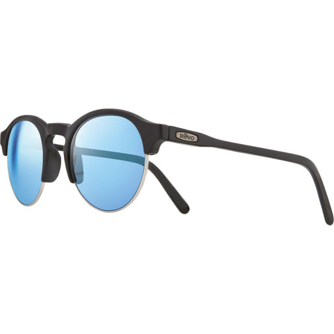 Rēvo Eyewear Reign Black Sunglasses | Blue Water