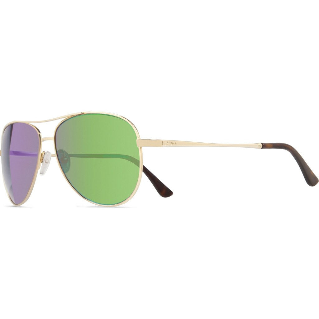 Revo Eyewear Relay Gold Sunglasses | Green Water RE 1014 04 GN
