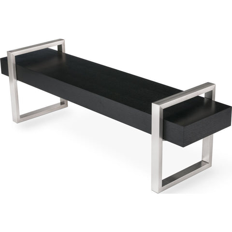 Gus* Modern Return Bench | Black Oak ECBERETU-ob