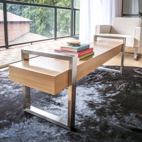 Gus* Modern Return Bench | Oak ECBERETU-on
