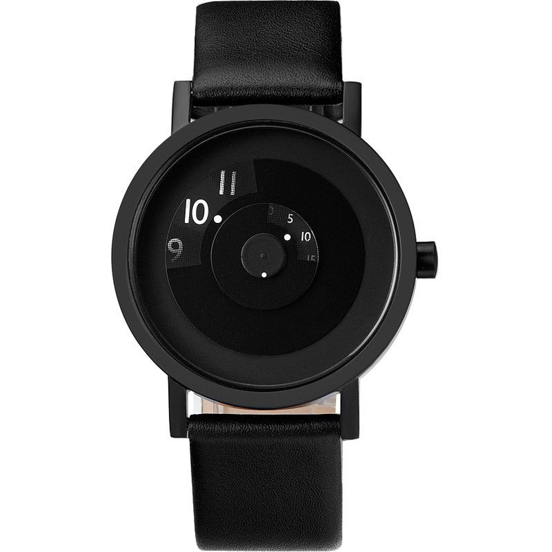 Projects Watches Daniel Will-Harris 40mm Reveal Watch | Black Leather