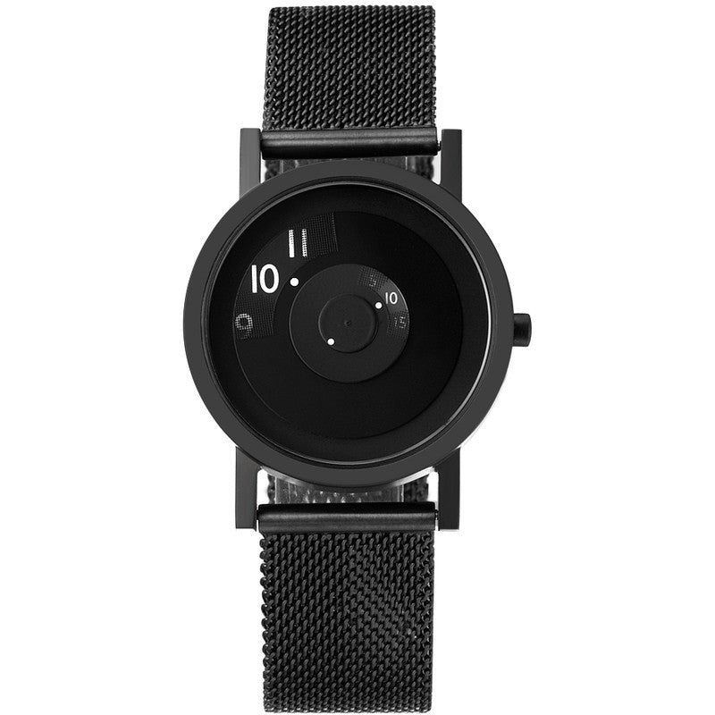 Projects Watches Daniel Will-Harris Reveal Watch | Black Metal Mesh