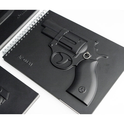 Afterain Armed Notebook | Revolver SM006-R