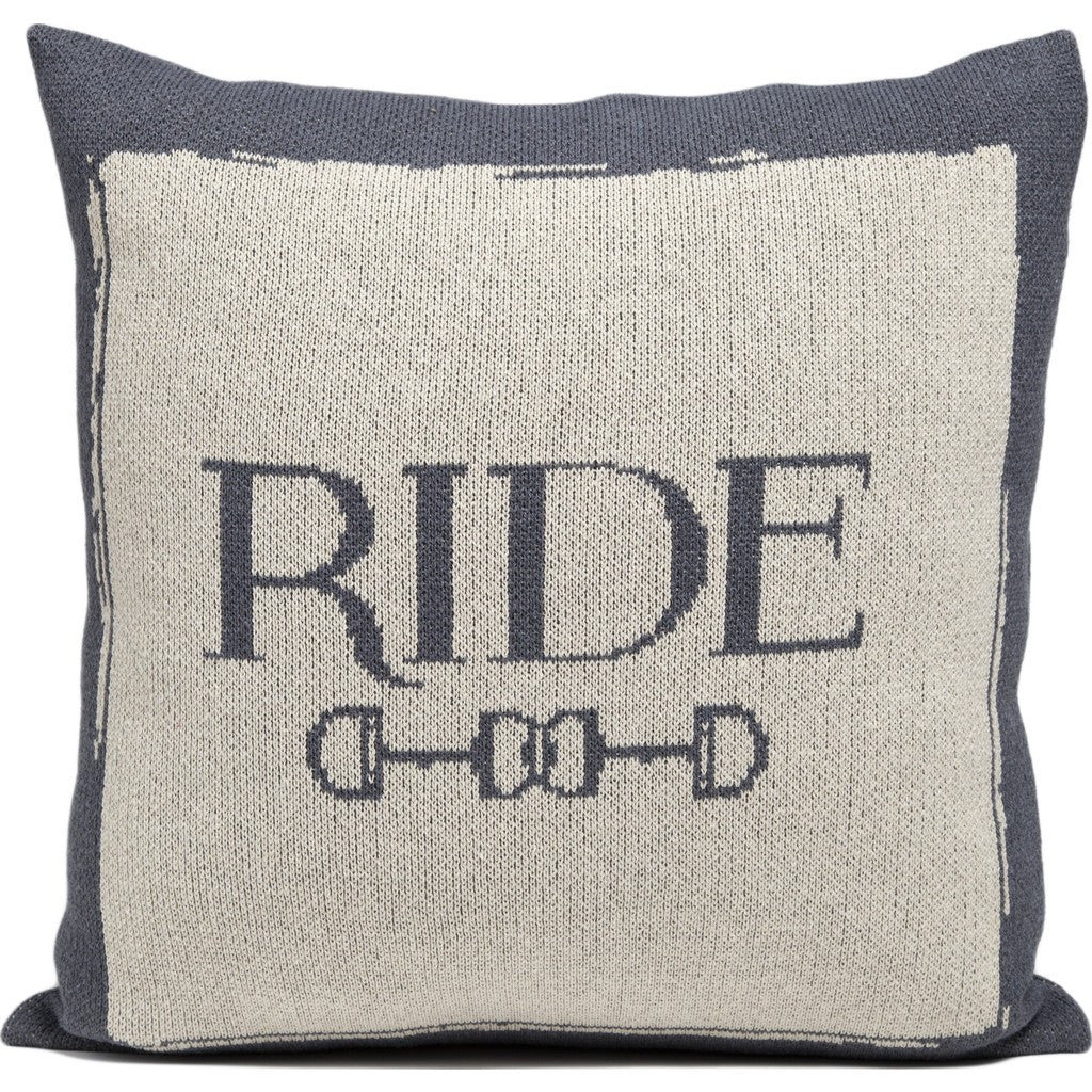in2green Ride Eco Pillow | Smoke/Flax PL18RD2